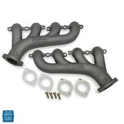 1964-2014 Gm Cars Ls Swap Exhaust Manifolds Set 2.50 Inch Outlet Multi Fit
