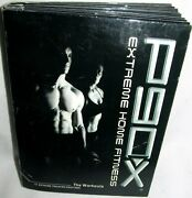 P90x Extreme Home Fitness Beachbody 13 Disk Dvd Book Box Set Exercise Workout