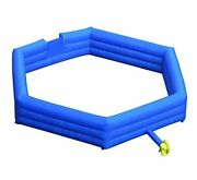 Inflatable Gaga Ball Pit Inflatable Gagaball Court With Blower For 20ft Blue