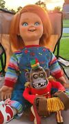 Chucky Life Size Talking Good Guy Doll With Childand039s Play Yellow Display Box