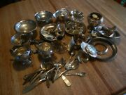 1600+ Grams Sterling Silver Scrap, Cleaned No Weighted