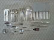 Craftsman Sterling Silver Flatware Set By Towle 68 Pieces