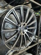 20 Stag Gunmetal Machined Face Turbine Amg Style Wheels For Cls Class Cls550