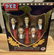 Pez Presidents Of The United States Vol. 1 1789-1825 First 5 Presidents Nib