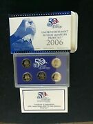 2006 Fifty 50 States Bu Lot Pandd Uncirculated Business Proof Set 25 Coins