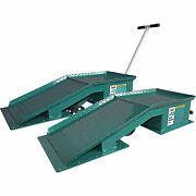 Safeguard 20-ton Truck Ramp W/tear Plate And T-handle 1 Pair