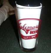 Cool Lakemaid Beer Pint Size Vintage Beer Glass, Rapala Lures, Schell's New Ulm