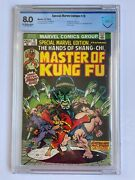 Special Marvel Edition 15 Master Of Kung Fu Cbcs 8.0 1st App Shang-chi Comics