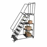 Ballymore Rolling Ladder Overall Height 93 In Steps 6 Cap 600 Lb