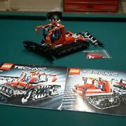 Lego Technic 8263 Snow Groomer Complete With Manuals And Alternate Parts