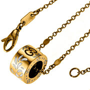Necklace Pendant 18k Yellow Gold Ladies Accessories Gg Chain Adjuster