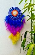 Dream Catcher Feather Wall Car Hanging Multicolor Decoration Handmade Wall Décor
