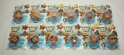 Nos Hasbro Wwf Superstar And Tag Team Squirt Heads Complete Set Of 12 - Sealed