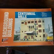 Walthers Cornerstone Ho Background Buildings Centennial Mills