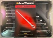 Gearwrench 85998 9-pc Sae Xl Gearbox Ratcheting Wrench Set