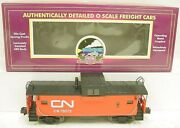 Mth 20-91007 O Scale Canadian National Extended Vision Caboose 79575 Ln/box