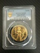 2015-w 100 High Relief American Liberty Pcgs Ms69 Gold Coin 1 Oz