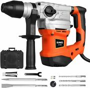 2000w Electric Sds Plus Rotary Hammer Drill Demolition Variable Speed W/ Bits