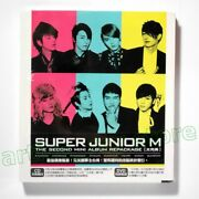 Super Junior M Perfection Taiwan Cd Dvd 64p Booklet 2011 New