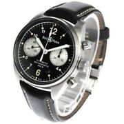 Bell And Ross Vintage 126 Br126-94 Automatic Chronograph Black Menand039s Beauty Auth