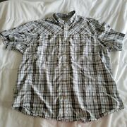 Duluth Trading Co Men's Vented Shirt Size 2xl Plaid