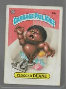 59a Rare Old Vintage Retro 1985 Garbage Pail Kids Gpk Topps Collection Card 119