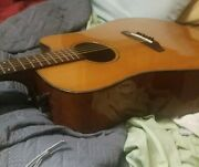 Vantage Va 35ce Acoustic Electric Guitar Handcrafted In Japan. It Sounds Amazing