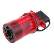 Red 7 Pin To 4 Pin Flat Trailer Light Adapter For Car Rv Trailer Acessories