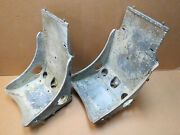 Vintage Original Wwii P-51 Mustang Fighter Aircraft Seats For Hot Rat Rod Ford