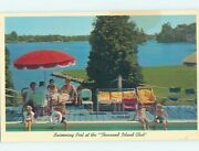 Pre-1980 Swimming Pool At The Club Thousand Islands New York Ny Hp8637