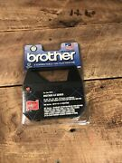 2 Pack Brother Typewriter Ax Series 1230 Black Ink Correctable 1030 Film Ribbons