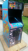 New Ms Pacman Galaga 27 Lcd Monitor 3 Years Warranty Upright Video Arcade Game