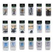 Huge Elements Set 50 X Periodic Table Elements In Labeled Vials, Chemistry Set