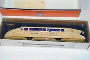 Nos Schylling Tin Lithographed Wind Up O Gauge Lionel Lines Rail Zeppelin Car