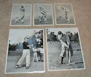 Awesomely Rare Golf Negatives And Photos By Alex J Morrison Golfing Legend Auth