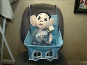 Teal Vintage Style Child Car Seat Baby Seat Safety Seat Antique Car Seat Auto