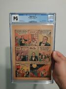 Superman 1 1939 Cgc Not Action Comics 1 Page 21 Only Origin Of Superman