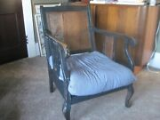 Beautiful Antique Early 1900's Kroehler Cane Back Chair Rare