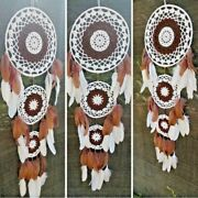 Extra Large Handmade Dream Catcher Feather Wall Car Hanging Wall Décor Hanging