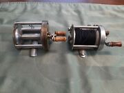 Pflueger Trump And Akron Lot. Fishing Reels. Made In Usa
