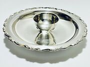 Fabulous Antique Wma Rogers Serving Dish With Center Sauce Bowl Silver Plate