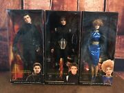 New Full Set Of 6 Hunger Games Barbie Collector Black Label Dolls W/ Rare Gale