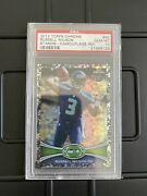 2012 Topps Chrome Russell Wilson Camouflage Refractor Camo