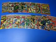 Fantastic Four Marvel 17 Lot Comics Lot Original Price From 12¢ To 60¢