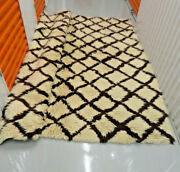 Wool Area Rug 7and039x 9and039 Made In Greece By Flokati 100 New Zealand Wool