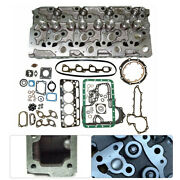 Cylinder Head +full Gasket 19077-03048a For Bobcat 331 334 337 Compact Excavator