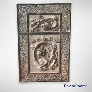 Superb Antique Qing Era 19th Century Chinese Silver Filigree Card Case And Cover
