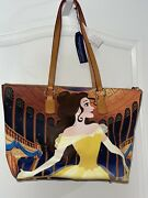 Nwt Disney Dooney And Bourke Belle Beauty And The Beast Dream Big Princess Tote