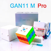 Gan 11 M Pro Frosted 3x3x3 Speed Sticker Less Magnetic Magic Cube Puzzle Gift