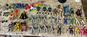 Huge Lot Of Loose Mighty Morphin Power Rangers Lightning Collection Figures